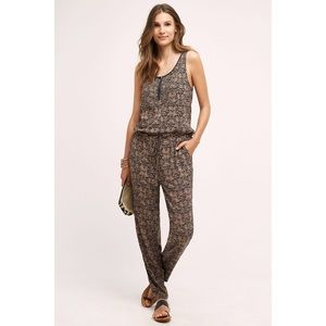 Anthropologie Tiny Chione Print Jumpsuit.